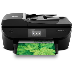 HEWLETT PACKARD OfficeJet 5742 e-All-in-One - Drucken, Kopieren, Scannen und Faxen mit einem Gerät