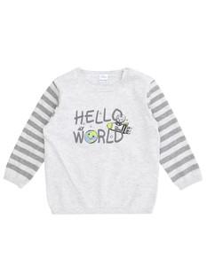 Newborn Pullover mit Print