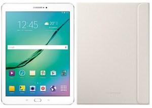 Samsung Galaxy Tab S2 9.7 (32GB) WiFi Tablet inkl. Book Cover weiß
