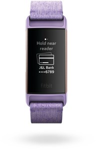 Fitbit Charge 3 Special Edition Activity Tracker lavendel