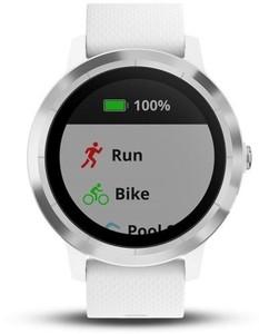 Garmin Smart Watch vivoactive 3 ,  weiß, silber