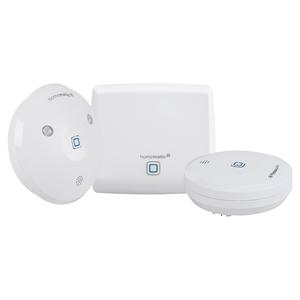Homematic IP Starter Set Wasseralarm, Smart Home, Zentrale, Wassersensor, Alarmsirene, AES-Verschlüsselung