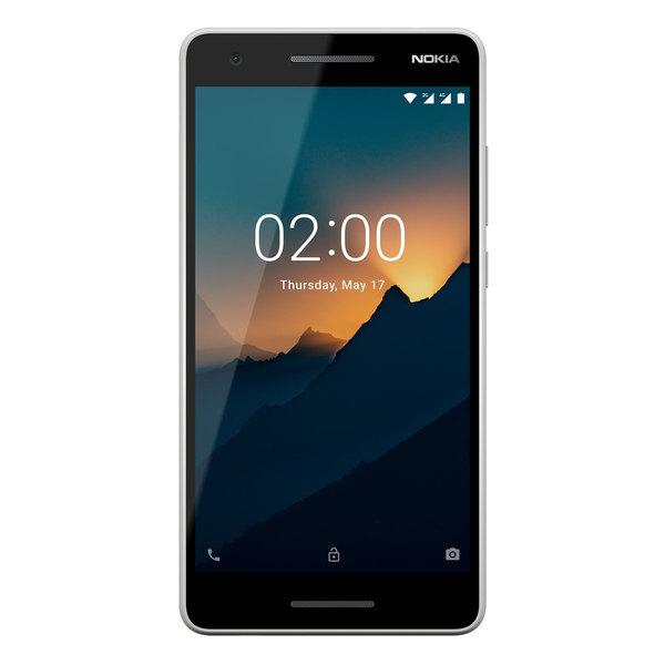 "Nokia 2.1 8GB Dual-SIM Grau/Silber [13,97cm (5,5"") IPS LCD Display, Android 8.1, 8MP Hauptkamera]"