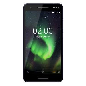 "Nokia 2.1 8GB Dual-SIM Blau/Silber [13,97cm (5,5"") IPS LCD Display, Android 8.1, 8MP Hauptkamera]"