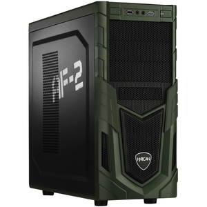 Hyrican Military PCK06138 Gaming-PC [Ryzen 7 2700 / 16GB RAM / 240GB SSD / 2TB HDD / RTX 2070 / AMD A320 / Win10]