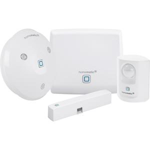 Homematic IP Starter Set Alarm (Access Point, Bewegungsmelder, Alarmsirene, Fenster- & Türkontakt)