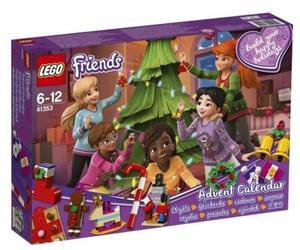 LEGO® Friends 41353 - Adventskalender 2018, mit Weihnachtsschmuck