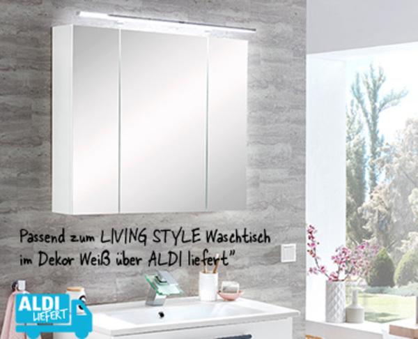 LIVING STYLE Bad-Spiegelschrank von Aldi Süd ansehen! » DISCOUNTO.de
