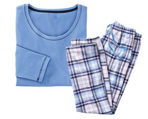 Skin to Skin Flanell-Pyjama