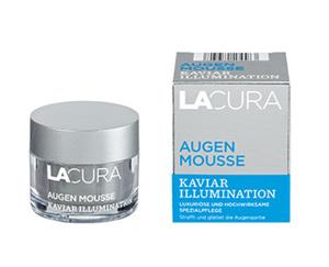 """LACURA Augenmousse """"Kaviar Illumination"""""""