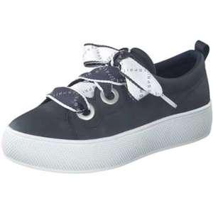 Esprit Plateau Sneaker Damen blau