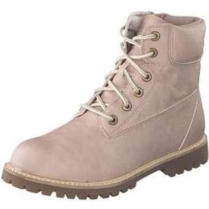 Esprit Schnür Boots Damen rosa