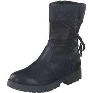 smiling for feet 3/4 Stiefel Damen schwarz