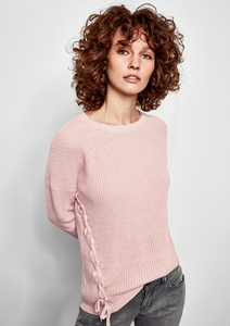 Pullover mit Lace-Up Detail