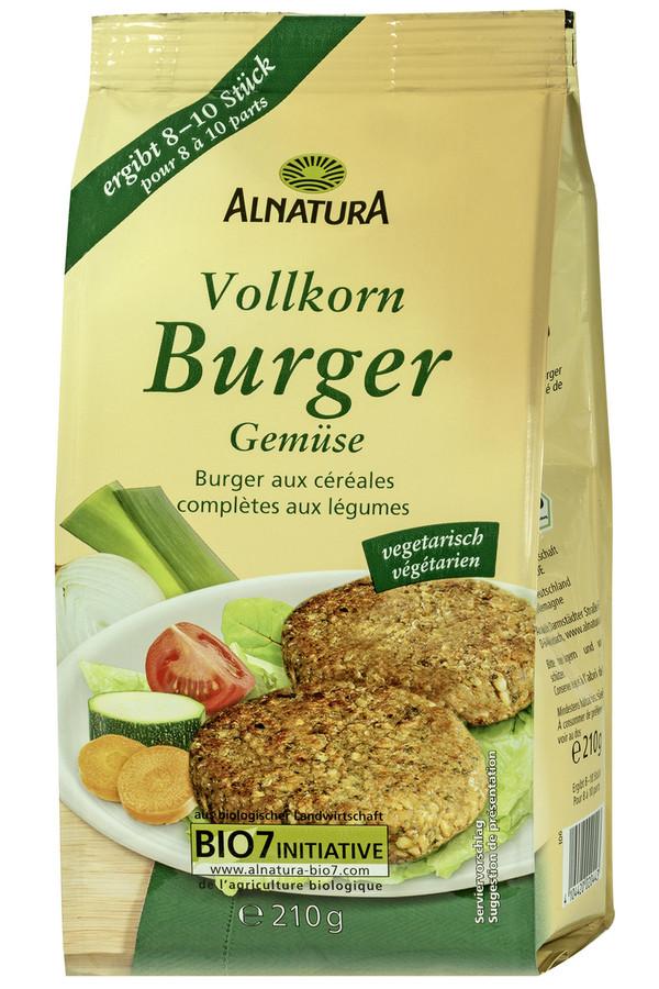 Alnatura Bio Vollkorn Burger Gemüse 210 g
