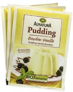 Alnatura Bio Pudding Bourbon-Vanille 3x 40 g