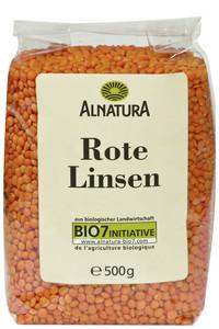 Alnatura Bio Rote Linsen 500 g