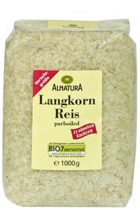 Alnatura Bio Langkornreis parboiled 1 kg