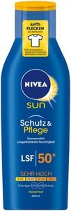 Nivea Sun Schutz & Pflege Sonnenmilch LSF 50 200 ml