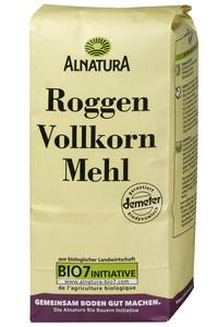 Alnatura Bio Roggenvollkornmehl 1 kg