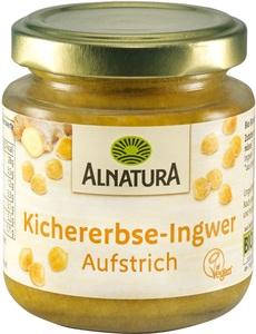 Alnatura Bio Kichererbse-Ingwer Aufstrich 120 g