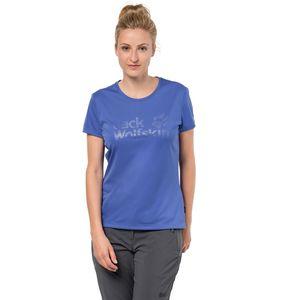 Jack Wolfskin Funktionsshirt Frauen Rock Chill Logo T-Shirt Women XS blau