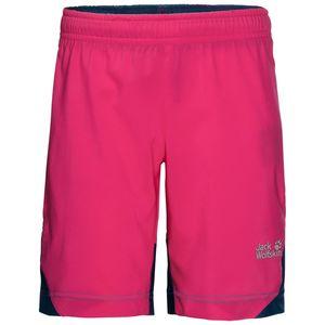 Jack Wolfskin Shorts Kinder Spring Shorts 128 violett