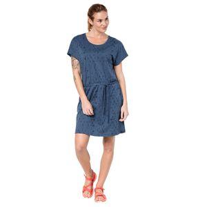 Jack Wolfskin Kleid Shibori Dress XS blau
