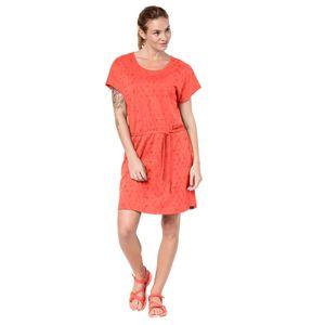 Jack Wolfskin Kleid Shibori Dress XS rot