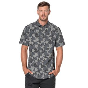 Jack Wolfskin Hemd Hot Chili Marble Shirt M grau