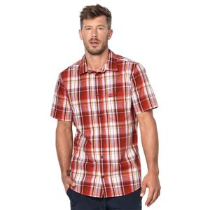 Jack Wolfskin Hemd Hot Chili Shirt Men M rot