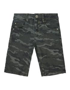 Jungen Jeansshorts mit Camouflage-Muster
