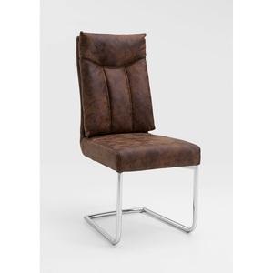 CASAVANTI Stuhl MONZA Bezug Vintage Braun