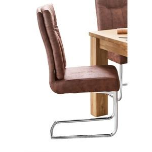 CASAVANTI Stuhl MONZA Stoffbezug Vintage Braun
