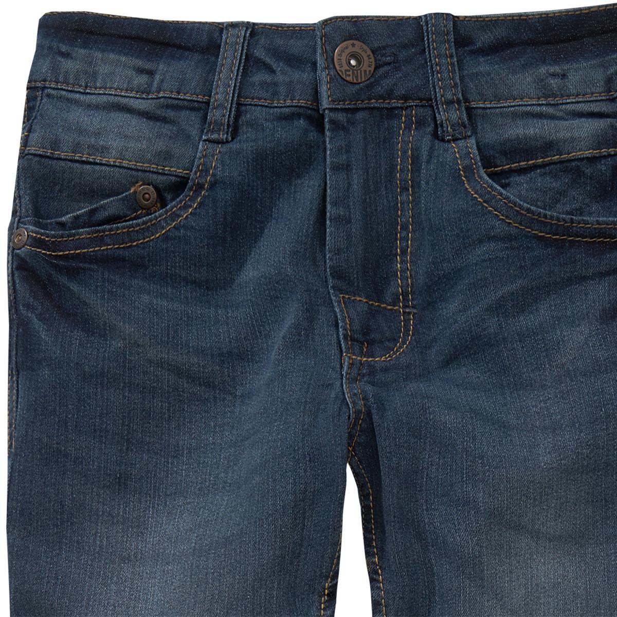 Bild 2 von Jungen Slim-Jeans mit verstellbarem Bund