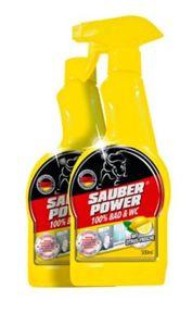 Sauber Power 100% Bad & WC, Reinigungs-Set
