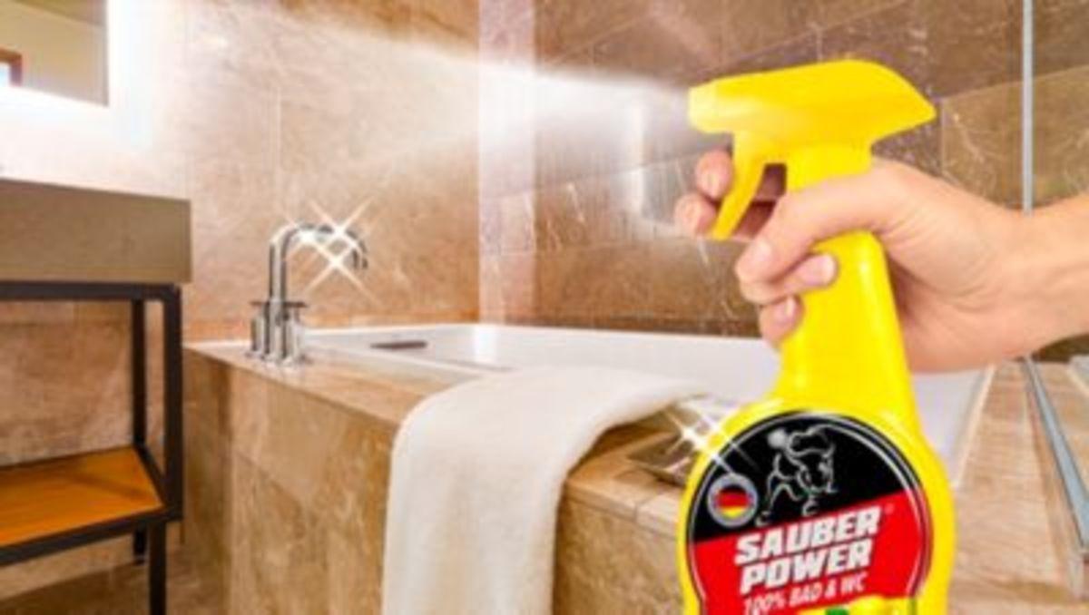 Bild 2 von Sauber Power 100% Bad & WC, Reinigungs-Set
