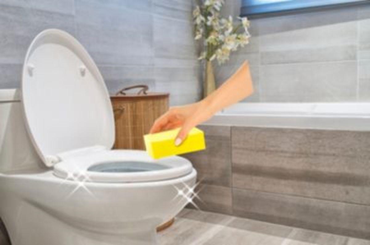 Bild 4 von Sauber Power 100% Bad & WC, Reinigungs-Set