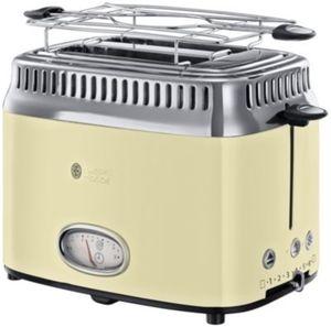 Retro Vintage Toaster, creme