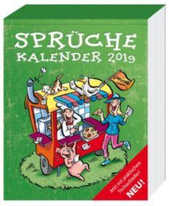 Sprüche Abreißkalender 2019