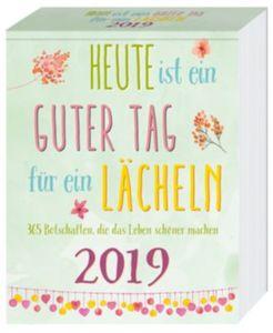 Lächeln Abreißkalender 4fbg. 2019