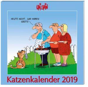 U.Stein Katzenkalender 2019