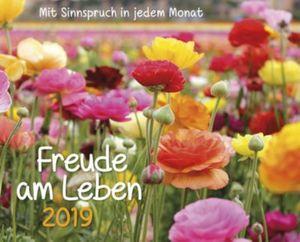 Freude am Leben Kalender-Set 2019, 8tlg.