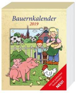 Bauern Abreißkalender 2019