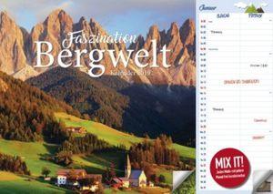 Bergwelt A3 Duo Kalender 2019