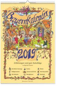 Bauernwandkalender 2019