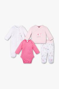 Baby Club         Geschenkset - Bio-Baumwolle - 4 teilig