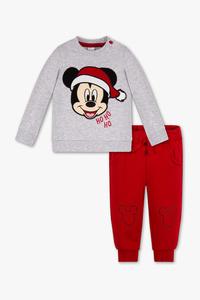 Disney - Baby-Weihnachts-Outfit - Bio-Baumwolle - 2 teilig