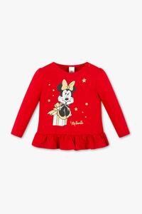 Disney Baby         Disney - Baby-Langarmshirt - Bio-Baumwolle - Glanz Effekt