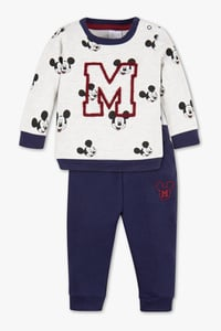 Baby Club         Micky Maus - Baby-Outfit - Bio-Baumwolle - 2 teilig